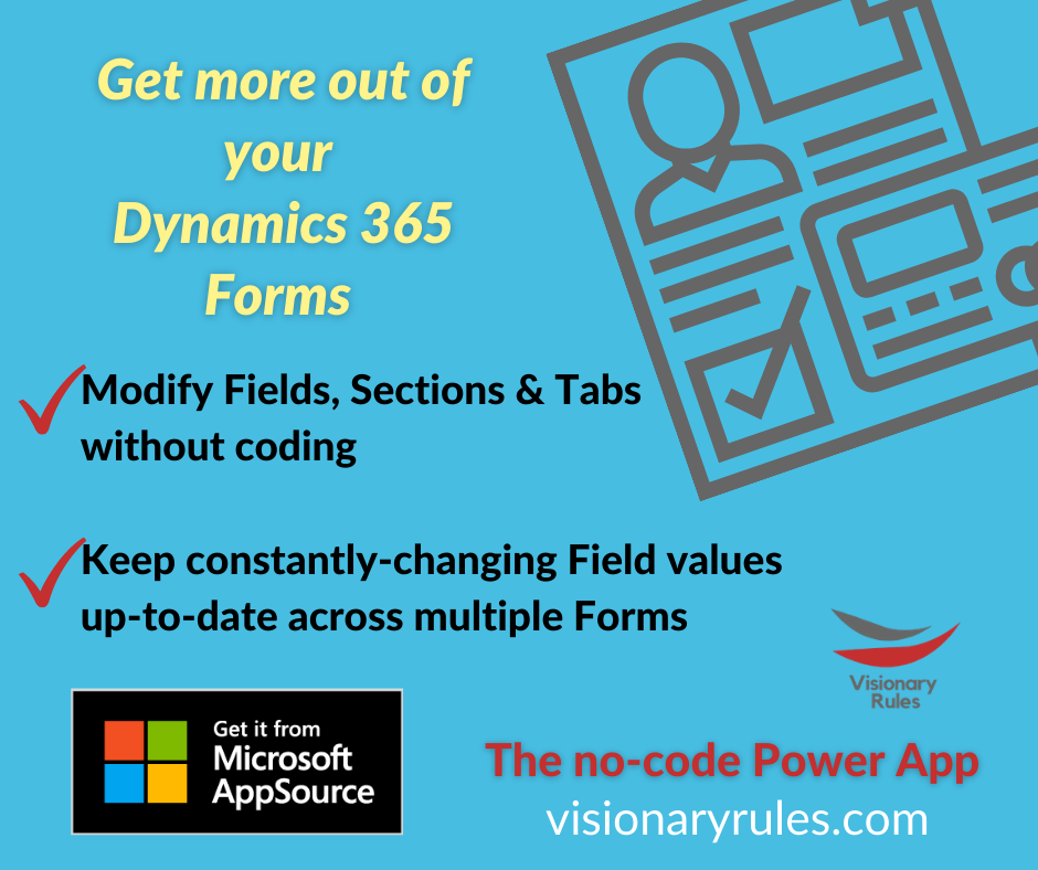 Copy Fields easily with Visionary Rules